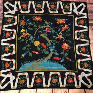 Vintage Metropolitan Museum Qing Tree Scarf